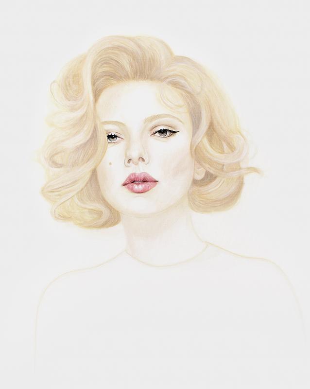 Scarlett - Marleen Maria ten Have – Amsterdam - Schilderijen, paintings, portretten, portraits