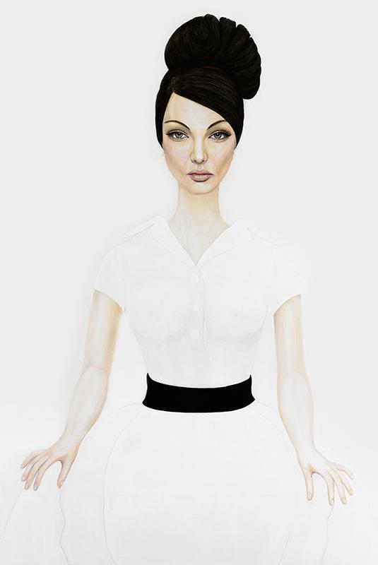 Angelina - Marleen Maria ten Have – Amsterdam - Schilderijen, paintings, portretten, portraits