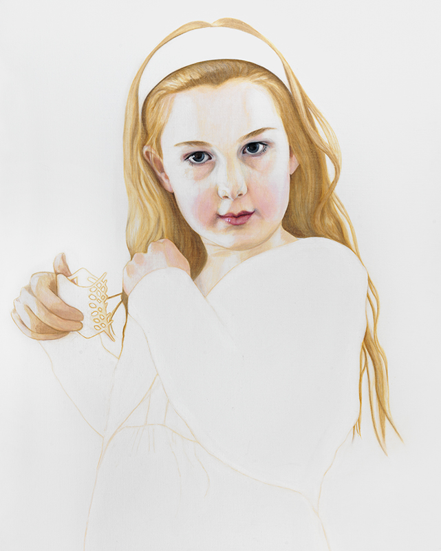 Hannah - Marleen Maria ten Have – Amsterdam - Schilderijen, paintings, portretten, portraits